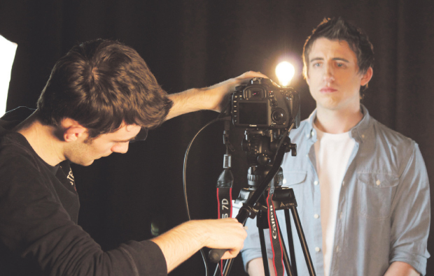 Student at Weston College is video star