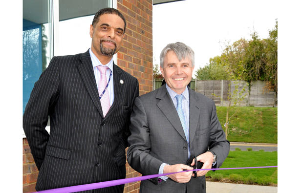 Lord Drayson visits Basingstoke College of Technology