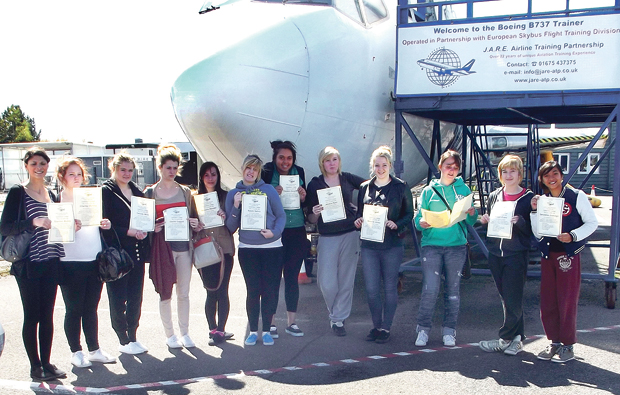 High flying students at Canterbury College
