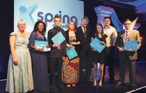 Central Sussex College cleans up at awards