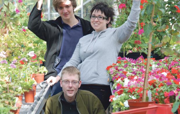 City of Wolverhampton College is in bloom