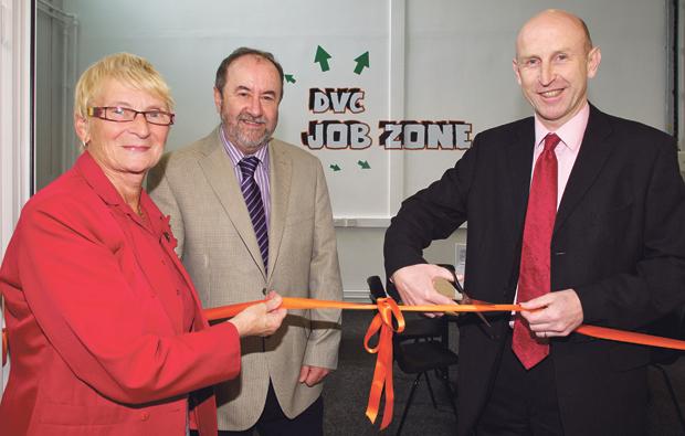 Dearne Valley College open new 'Job Zone'