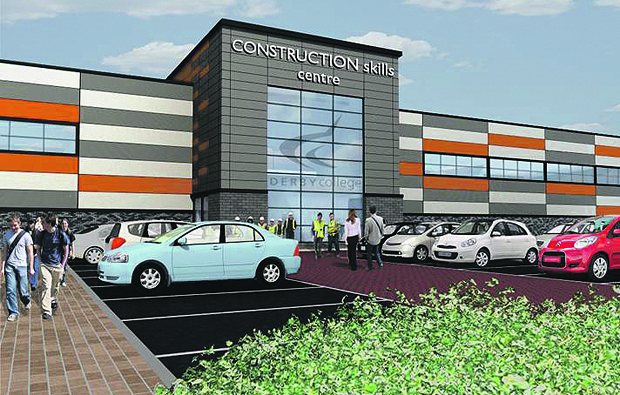 Derby College starts work on new Academy