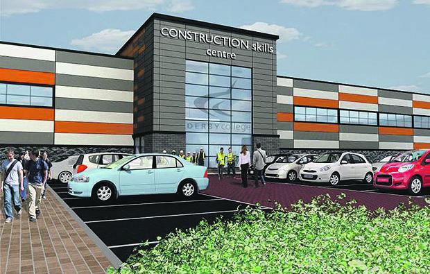 Derby College starts work on new Academy