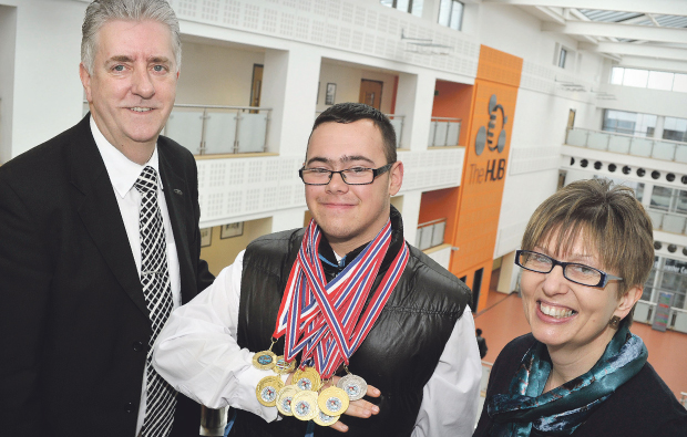 Doncaster College student is leagues ahead