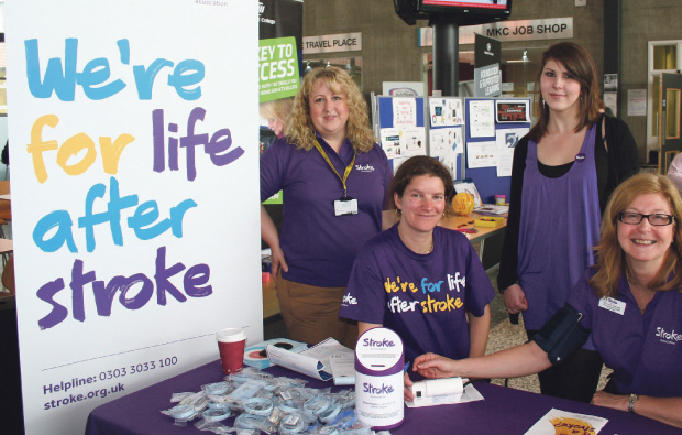 MidKent College stroke awareness day