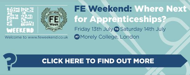 FE Week proudly presents FE Weekend