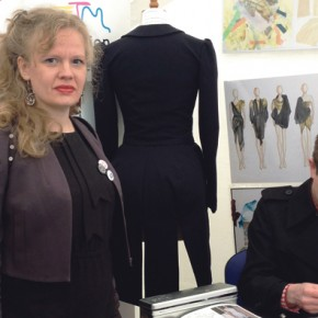 Royals visit Newham College fashion show