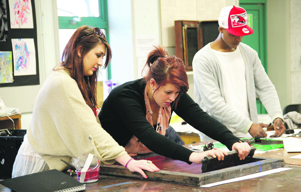 Oxford & Cherwell Valley College students show their skills at Artweeks