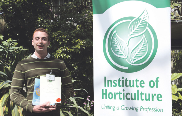 Green fingered student at Pershore College