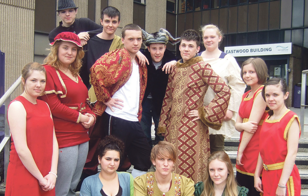 Rotherham College bring Shakespeare to life