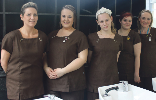 South Cheshire College beauty therapy day