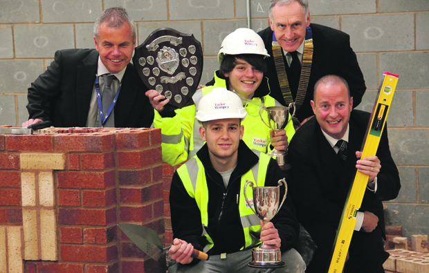 Stratford-upon-Avon college hosts Guild of Bricklayers Competition regional heat