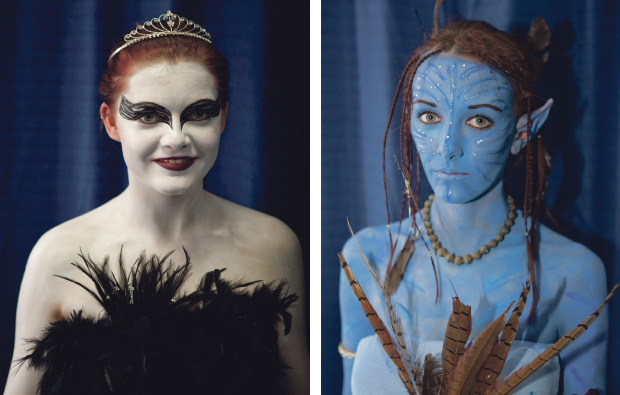 Strode College's make-up masterpieces