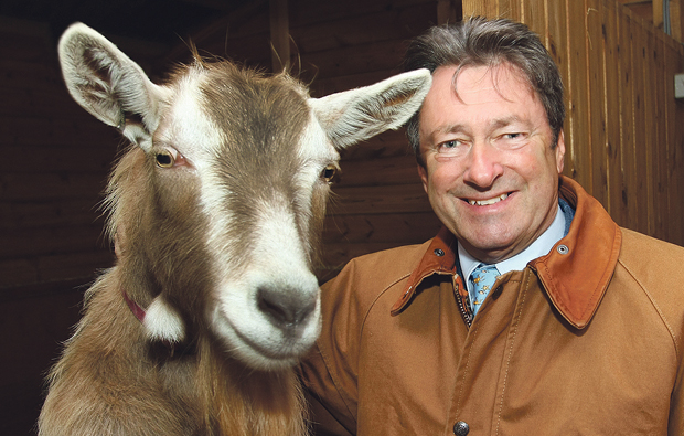 Alan Titchmarsh visits Writtle College