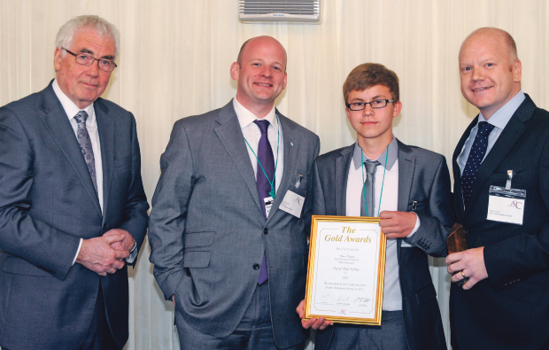 City of Bath College student gets Gold Award