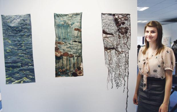 Award winning artist at Derby College