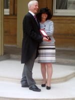 Geoff Hall receives knighthood