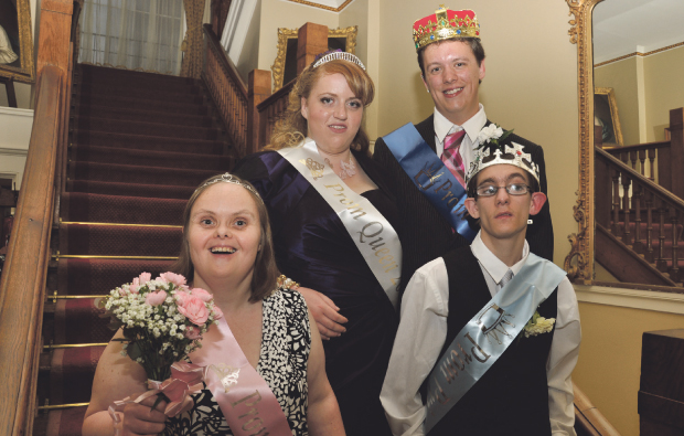 Stratford-upon-Avon College chooses its Prom King and Queen at annual ball