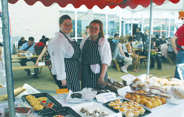 Summer fayre at Barking & Dagenham College