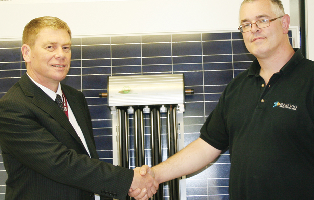 Hi-tech solar donation for MidKent College