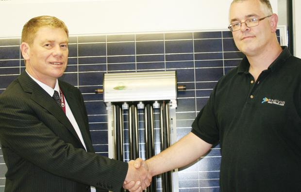 Hi-tech solar donation for MidKent College