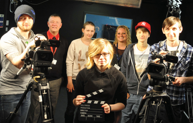 Lights, camera, action, at Middlesbrough College