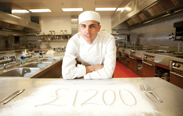 Newcastle College offer up tasty cash boost