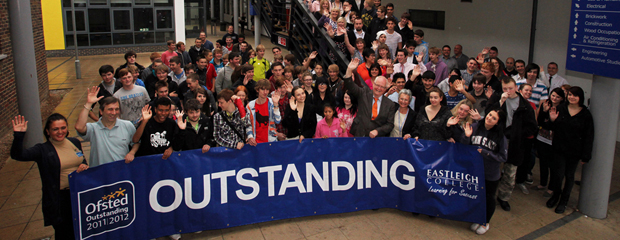 "Eastleigh College rated ""outstanding"" by Ofsted"