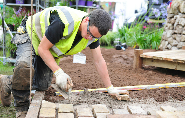 Young landscape gardeners selected for WorldSkills UK squad