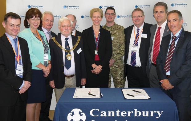 Canterbury College celebrates 65th anniversary