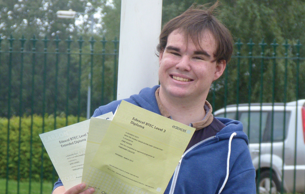 Top grade for Fareham student