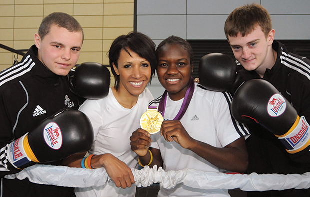 Boxing clever with sports title