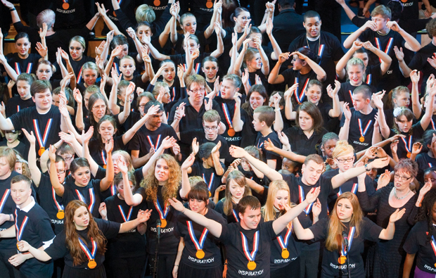 Havering College's gold medal-winning show