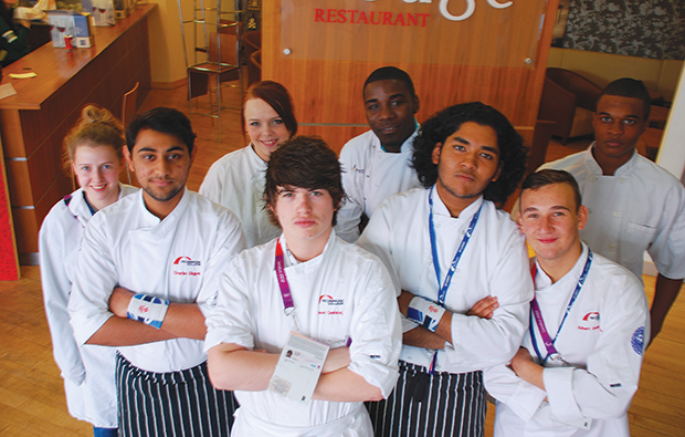 Chefs cook up Olympic culinary experience