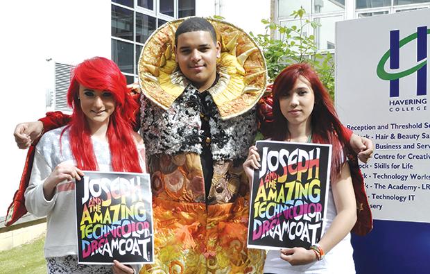 College hunts for colourful coat wearer