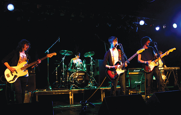 Westminster gig for student five-piece