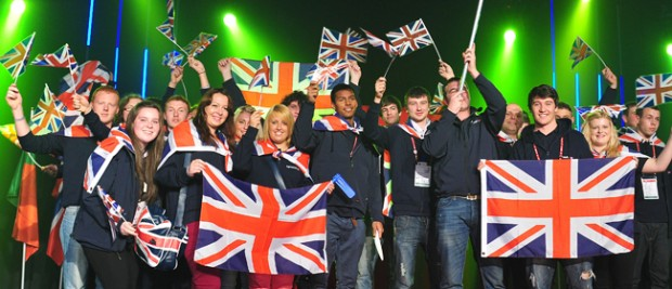 SquadUK's GOLD Success at EuroSkills 2012
