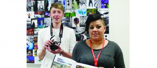 Students' work gets into print