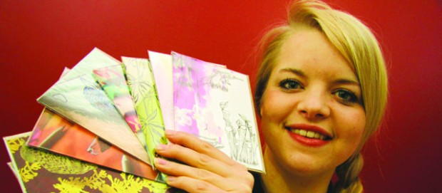 Boost for design graduate's career