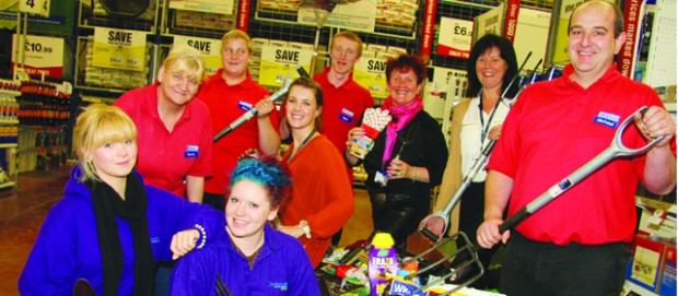 Students dig in for Darlington