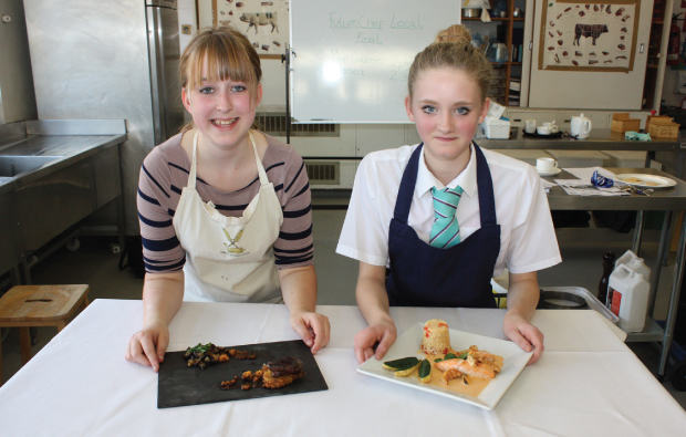 Cooking up a storm in FutureChef 2013