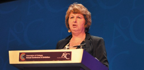 Shadow minister's care blow for FE leaders