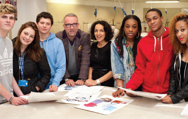 Students hear top tips from fashion veteran