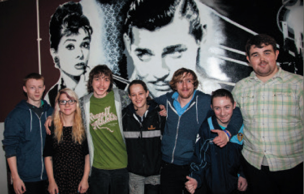 Students bring movie magic to centre