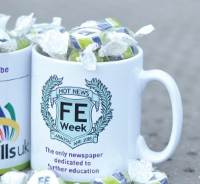 Win an FE Week special edition WorldSkills mug filled with sweets