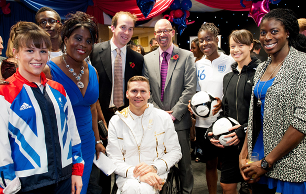 Olympian efforts raise funds for students