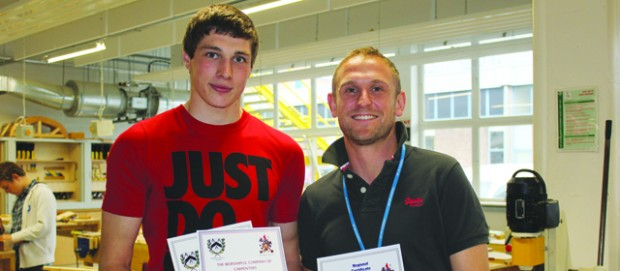 Dual success for Plymouth carpenters