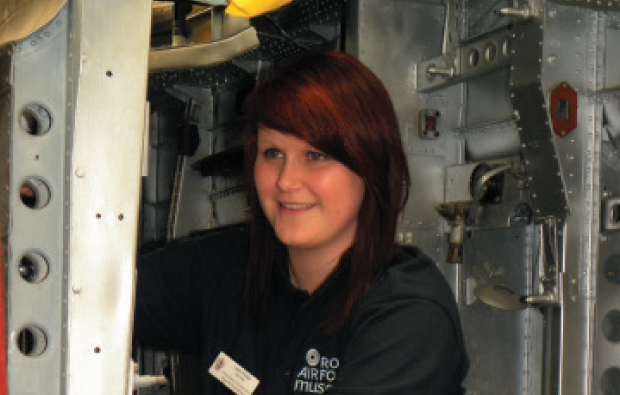RAF carpenter claims apprentice of the year title