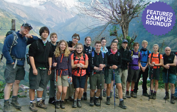 Hampshire students trek out of their comfort zones